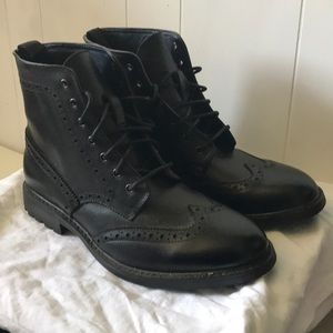 Men's black Joseph Abboud Shoes